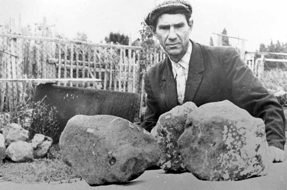 Фрагменты метеорита Царев