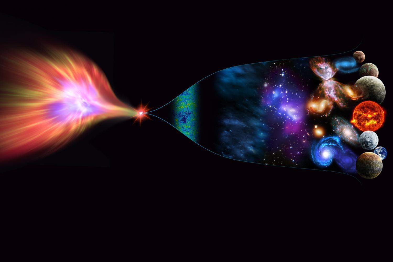 Рождение Вселенной из черной дыры