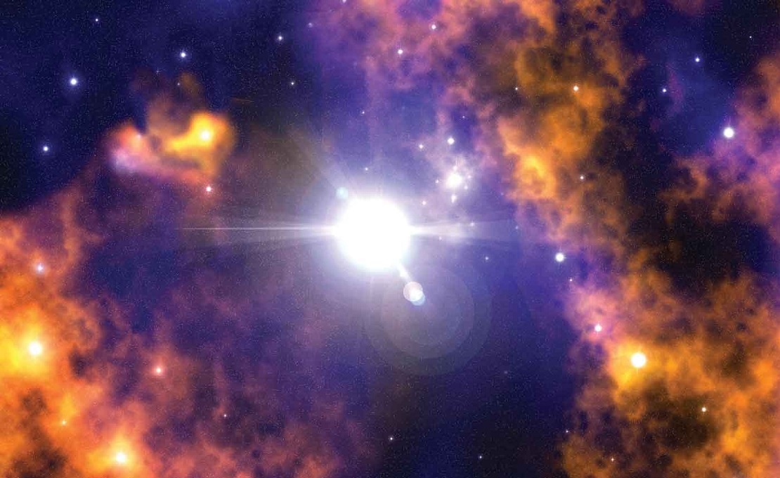 Вырожденный газ в недрах звезды