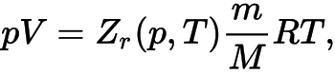 Обобщенное уравнение Менделеева — Клапейрона