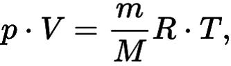 Уравнение состояния идеального газа Клапейрона — Менделеева