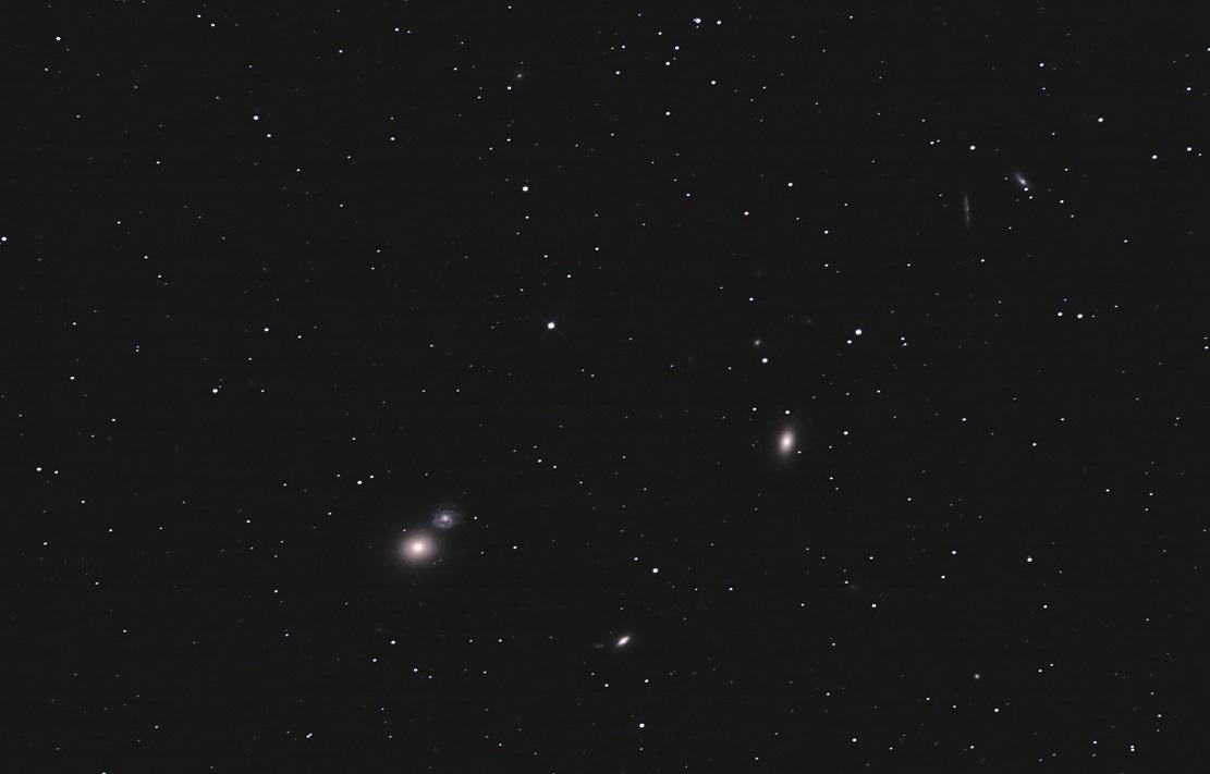 Галактики M60 и NGC 4647