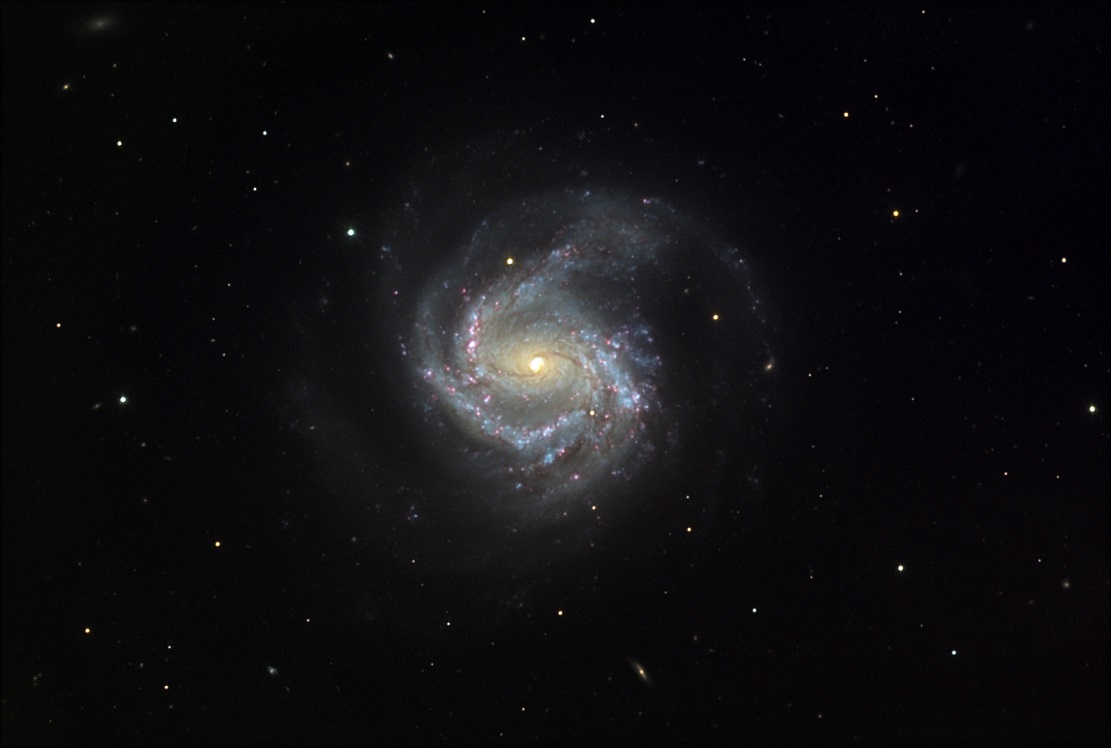 Спиральная галактика M61