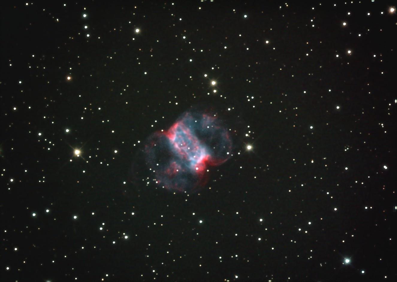 Туманность Маленькая Гантель M76