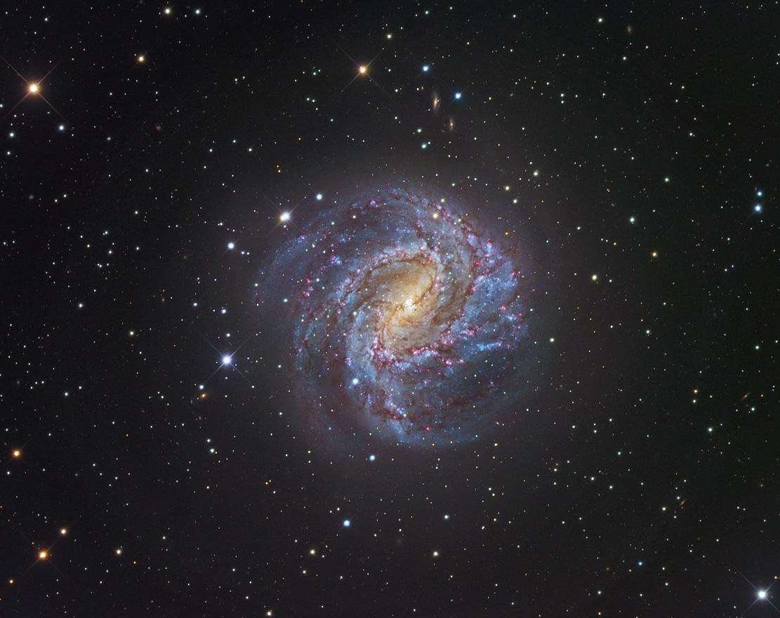 Галактика Южная Вертушка M83