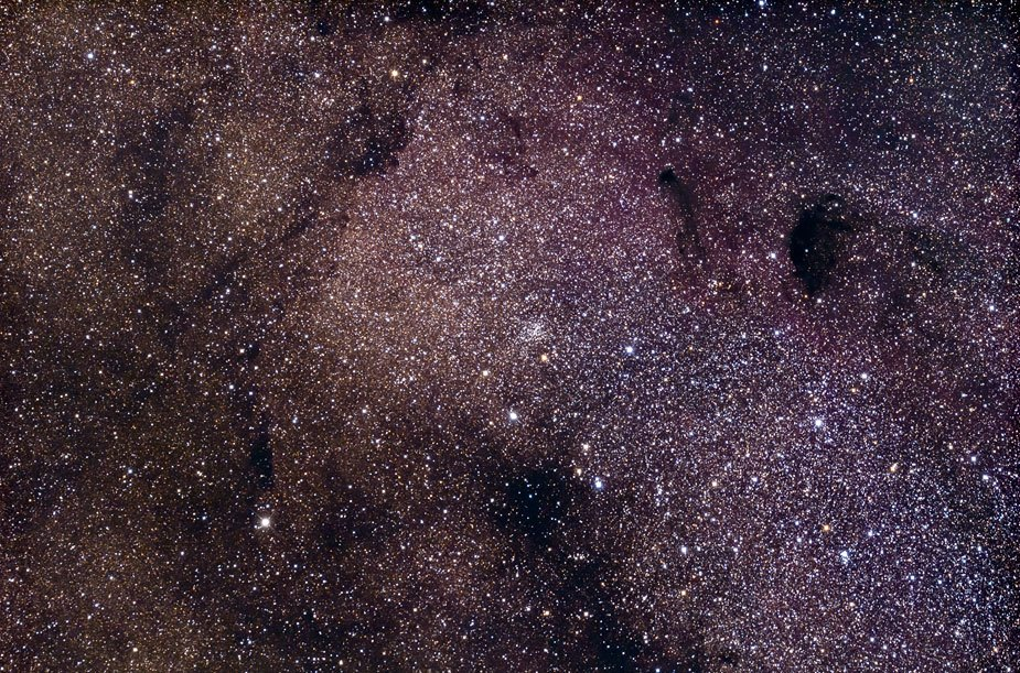 M24 01w - Звездное облако Стрельца M24