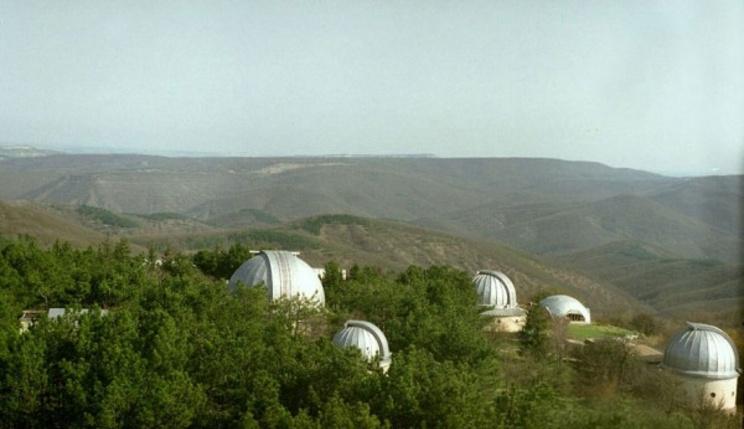 Современная Крымская обсерватория вблизи поселка Научный