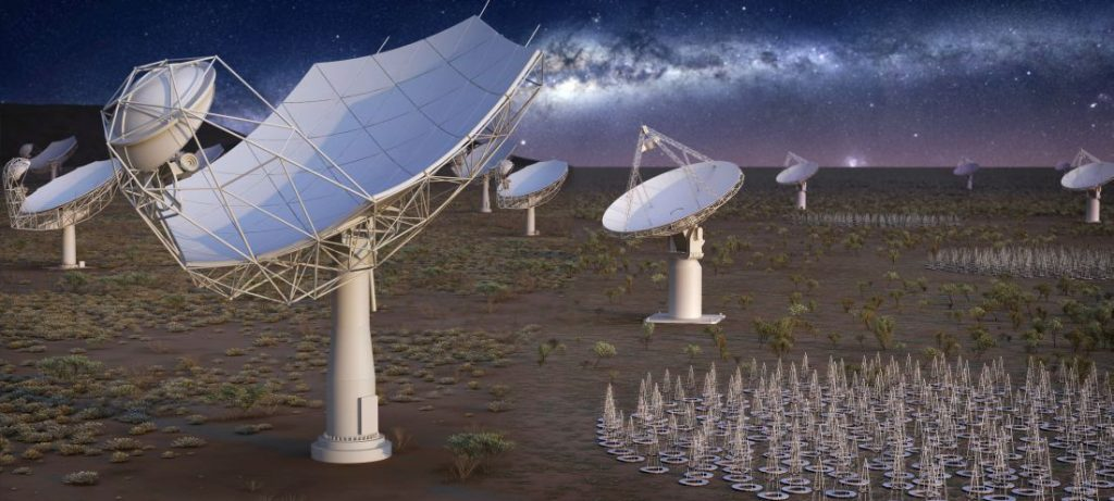 Проект SKA (Square Kilometre Array)