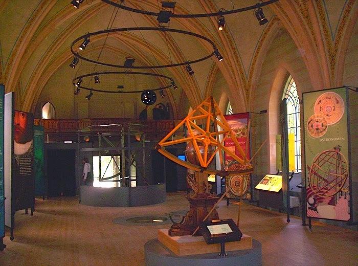 Музей Тихо Браге посреди пролива Эресунн на острове Вен