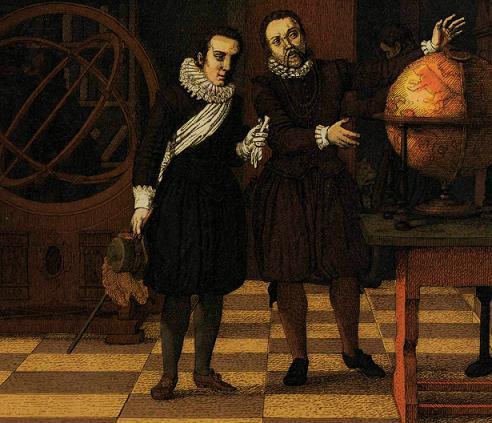 Тихо Браге и король Крестиан IV