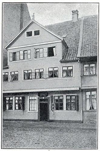 Дом, где родился Гаусс