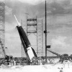 Первый запуск ракеты с мыса Канаверал