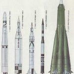 Первые американские ракеты для запусков спутников (для сравнения указаны аналогичные носители других стран)