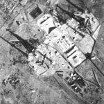 """Снимок двух стартовых установок Н1 с американского спутника программы """"Корона"""" от 6 ноября 1968 года"""