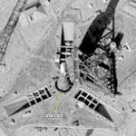 """Снимок самой ракеты от 19 сентября 1968 года, сделанный спутником серии """"Гамбит"""" или КН-8"""