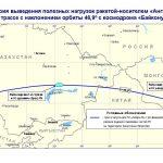 Районы падения в Томской области