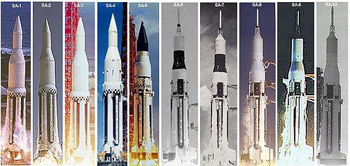 """Запуски РН """"Сатурн-1"""""""