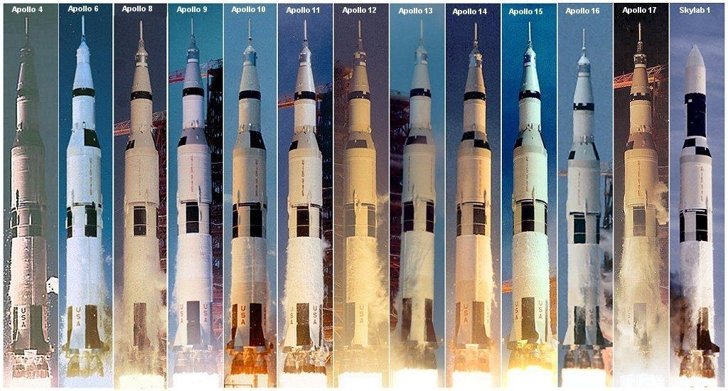 """Запуски РН """"Сатурн-5"""""""