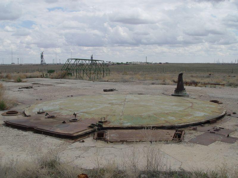 Третья ШПУ 131 площадки не взорвана и стоит с закрытым защитным устройством до сих пор