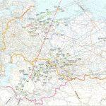 Карты расположения полей падения при запуске с Плесецка