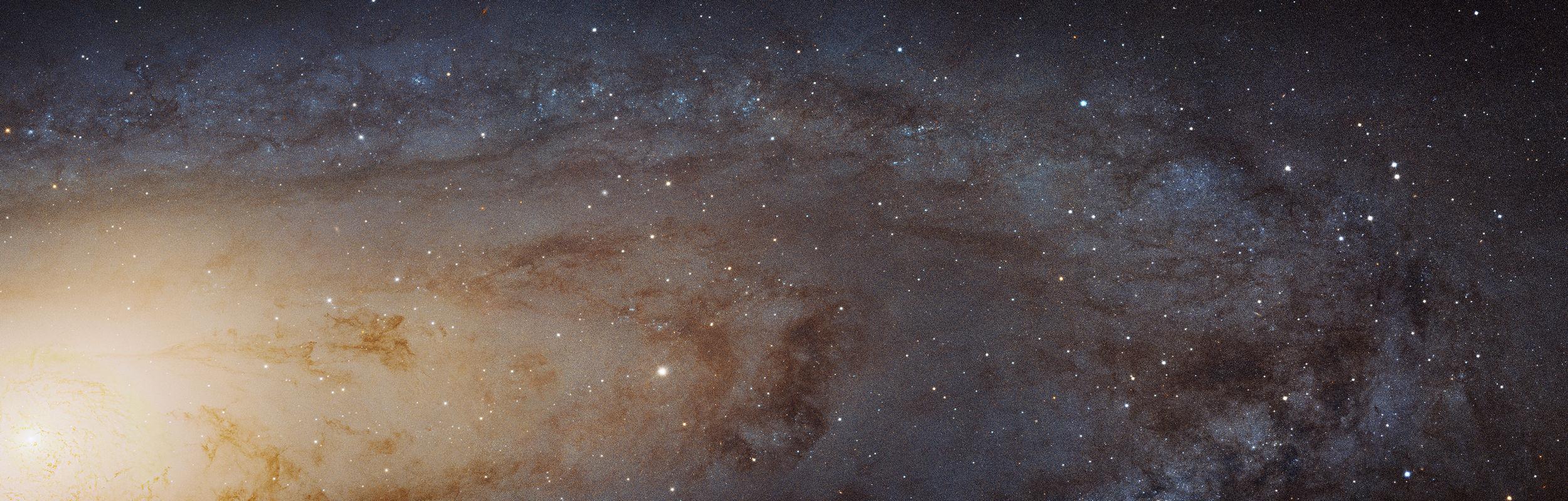 """Снимок телескопа """"Хаббл"""" галактики Андромеды"""