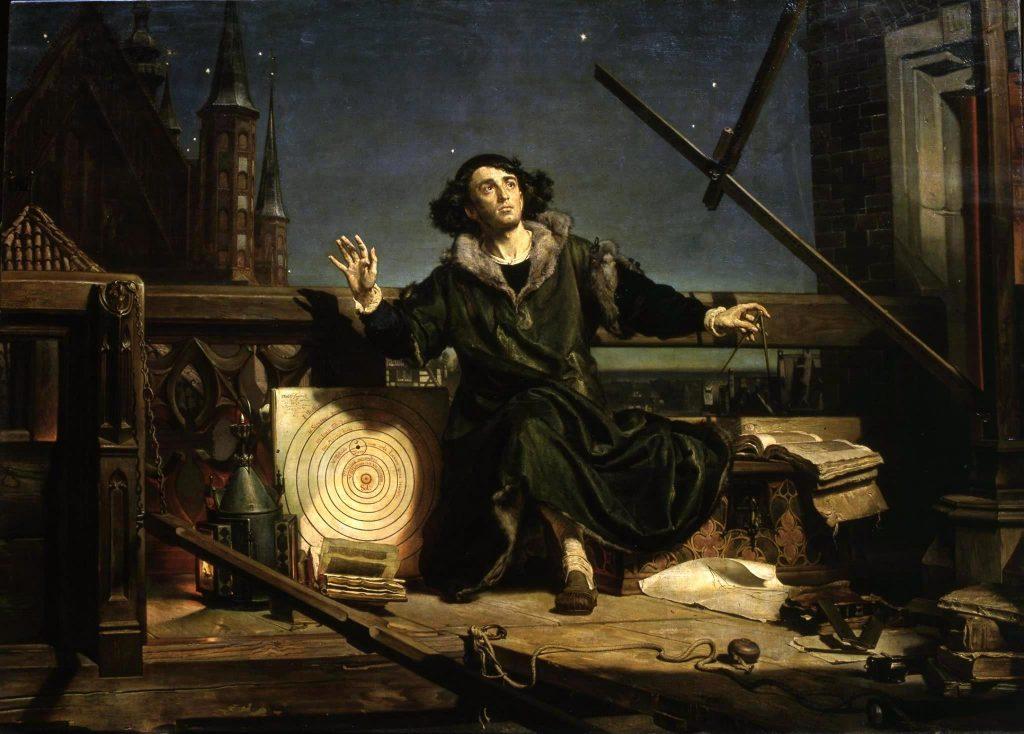 Беседа с Богом. Ян Матейко, 1873.