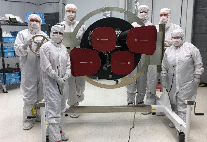 Криогенные испытания космического телескопа TESS
