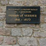 Место рождения Леверье в Сен-Ло (Манш), площадь Чам-де-Марс
