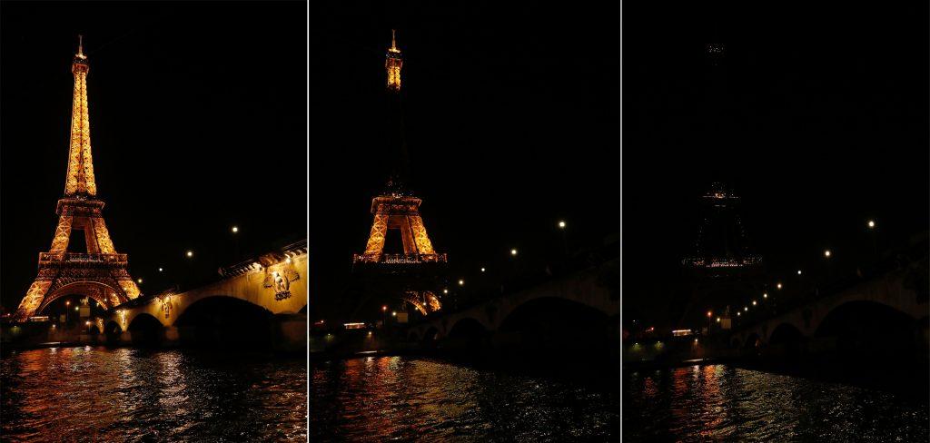 Час Земли в Париже в 2017 году
