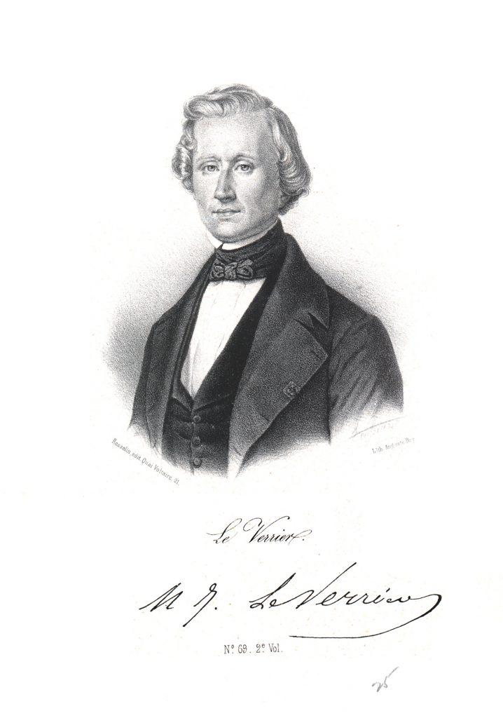 Французский математик Леверье