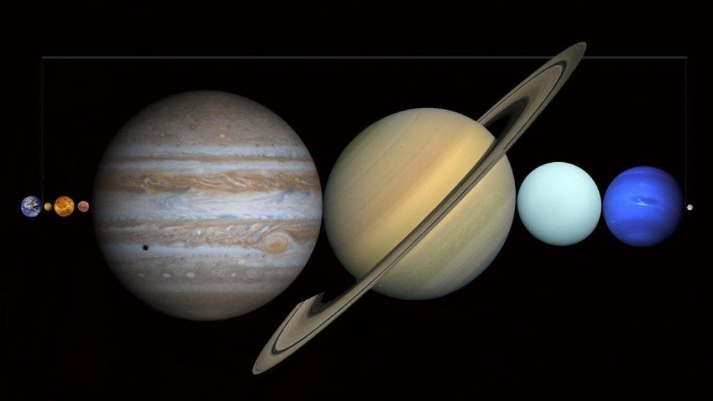 Между Землей и Луной можно поместить все остальные планеты Солнечной системы