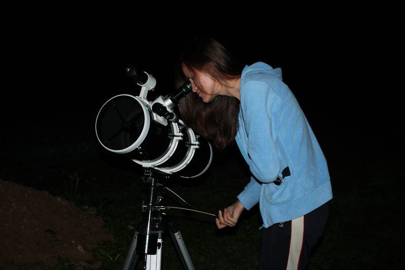 Наблюдение планет