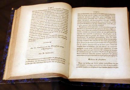 Первая статья Леверье по химии (1835г.)