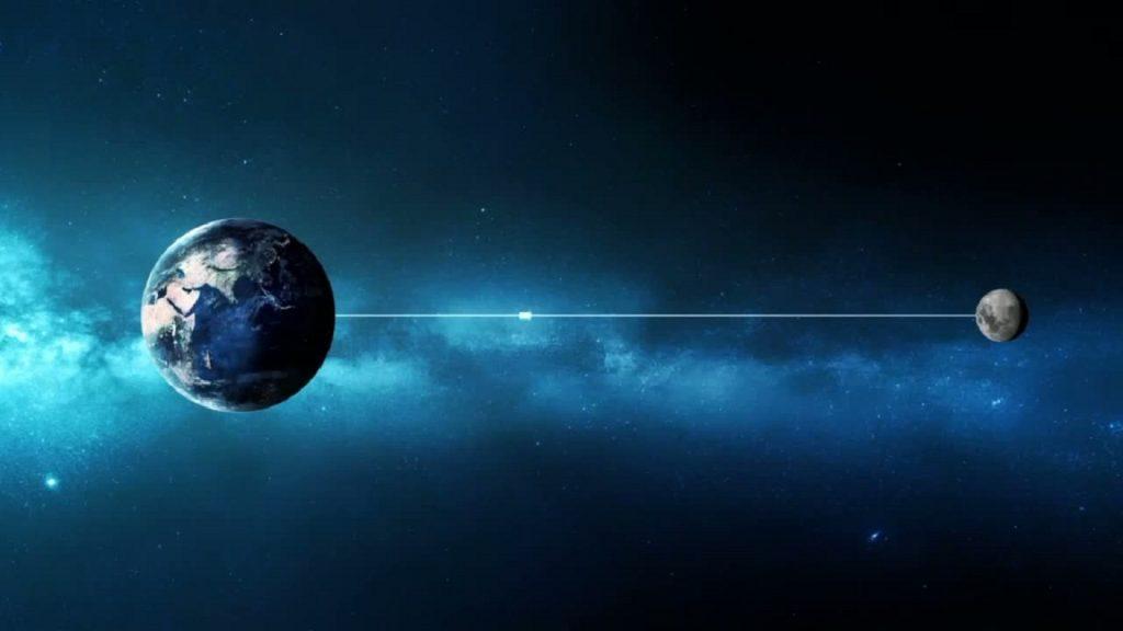 Свет от Земли до нашего спутника доберется очень быстро – за 1,255 секунд