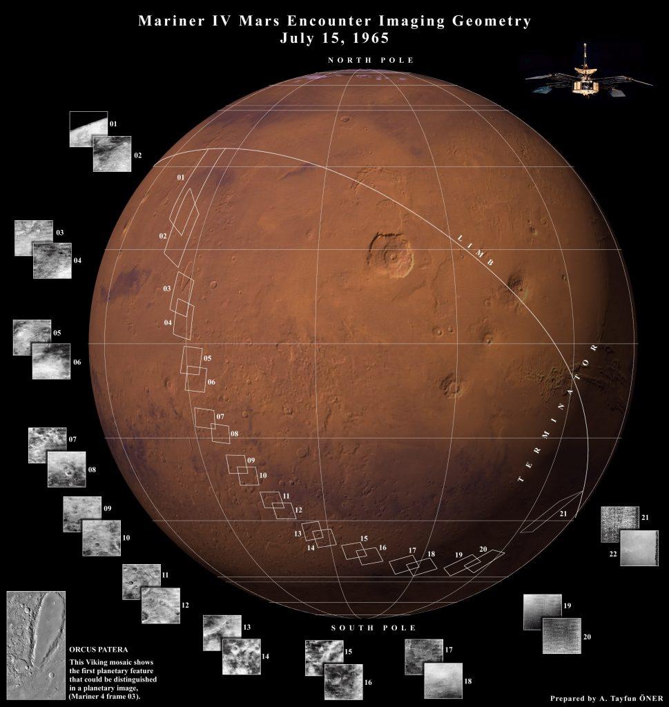 260-кг станция 14-15 июня прошла над южным полушарием Марса и получила 22 снимка его поверхности