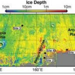 """Интересно отметить, что выбросы свежих кратеров показывают, что если бы ковш посадочного аппарата """"Викинг-2"""" прорыл траншею на несколько сантиметров глубже, то он бы, как и аппарат """"Феникс"""" обнаружил бы водный лед"""