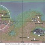 На Марсе обнаружены и другие вулканы