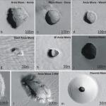Общий план обнаруженных лавовых трубок на Марсе