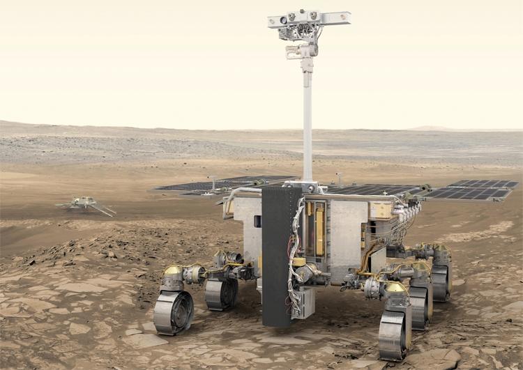 """Фото испытаний марсохода """"ЭкзоМарс-2020"""""""