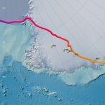 Южный геомагнитный полюс в тоже время переместился с Антарктического континента в океан