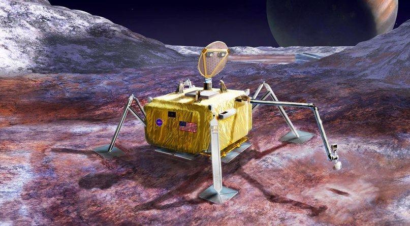 Концепт посадочного аппарата будущей миссии НАСА