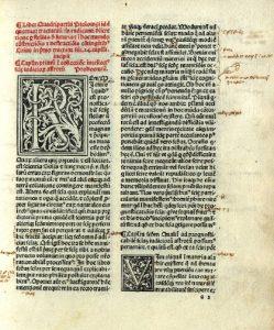 Страница из Тетрабиблоса 1484 г.