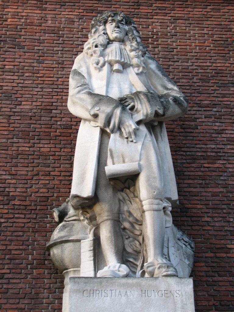 Памятник Христиану Гюйгенсу в Роттердаме