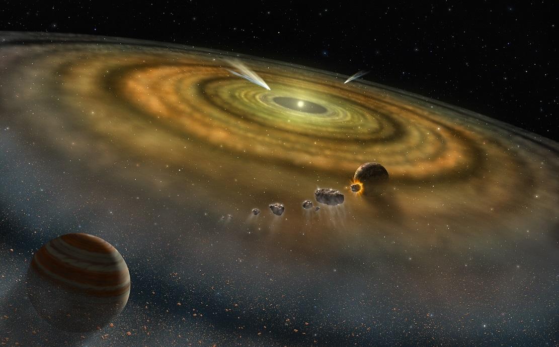 Художественное изображение протопланетного диска